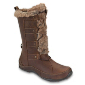The North Face Abby IV Luxe Womens Boots, Camel Brown-Demitasse Brown, medium