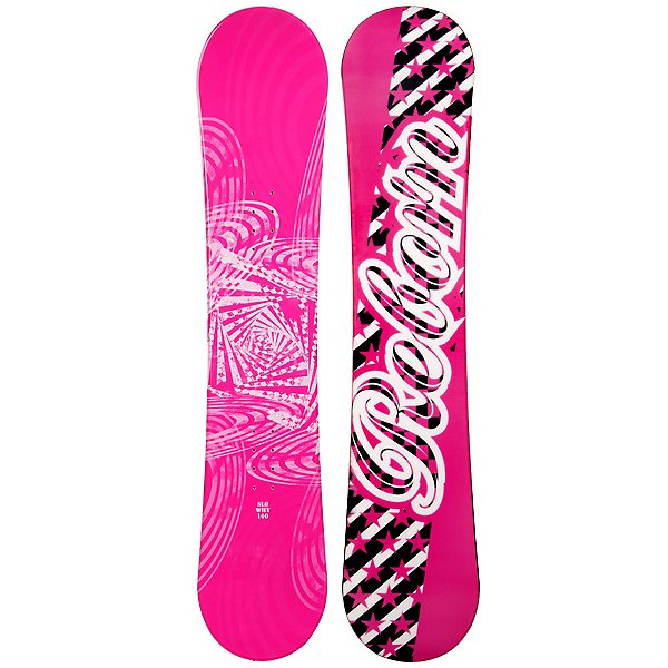 SLQ Why Pink Rocker Girls Snowboard, , 600