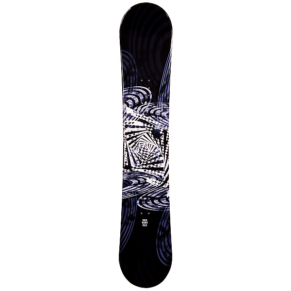 SLQ Why Black Snowboard, , 600