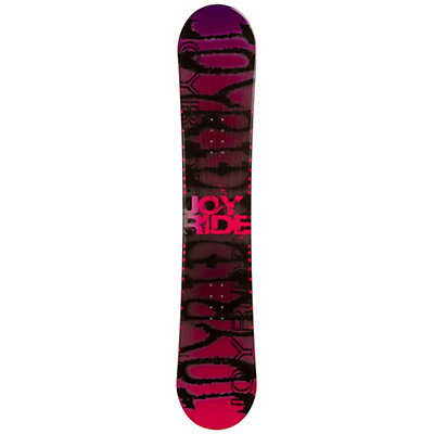 JoyRide Writing Pink Rocker Womens Snowboard, , viewer