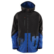 ThirtyTwo Delta Mens Insulated Snowboard Jacket, Blue, medium