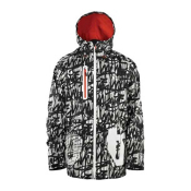 ThirtyTwo Delta Mens Insulated Snowboard Jacket, Black, medium