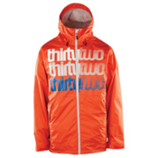 ThirtyTwo Shakedown Mens Shell Snowboard Jacket, Orange, medium