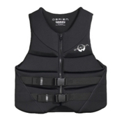 O'Brien Hinged Adult Life Jacket, Black, medium