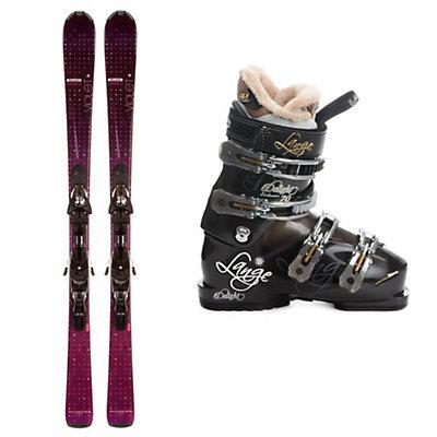 Salomon Origins Violet Womens Ski Package, , large