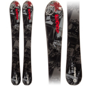 Alpina Zoom Kids Skis, Black-Gray, medium