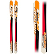 FRONTLINE FL01 Kids Skis, Orange-Black, medium