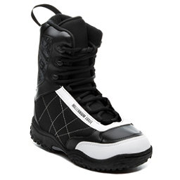 Millenium 3 Militia Junior 11-12 Kids Snowboard Boots, Black-White, 256