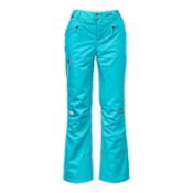 The North Face Kannon Insulated Womens Ski Pants, Turquoise, medium