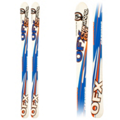 Original 5 OFX Kids Skis, Blue-White, medium