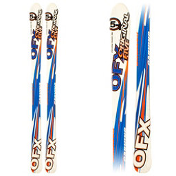Original 5 OFX Kids Skis, Blue-White, 256