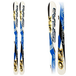 Original 5 OFX Kids Skis, Blue-Yellow, 256