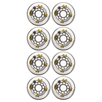 True Sport Wheels Inline Skate Wheels - 8 Pack, , large