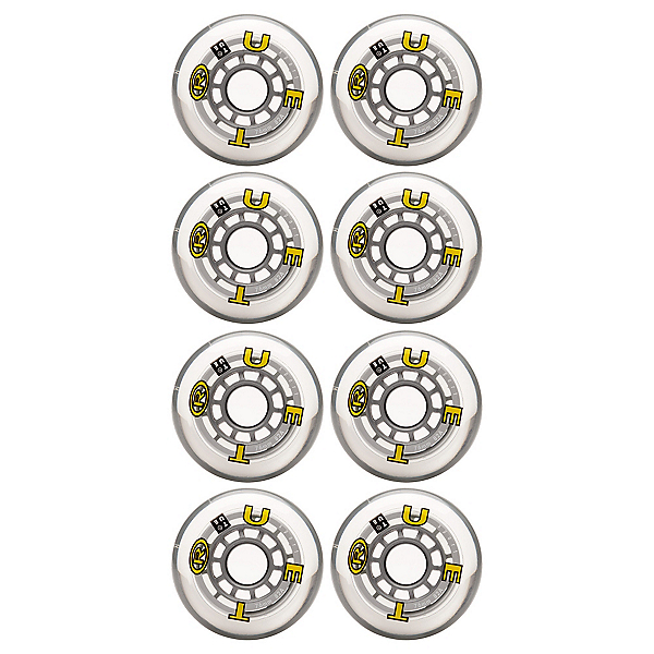 True Sport Wheels Inline Skate Wheels - 8 Pack, , 600