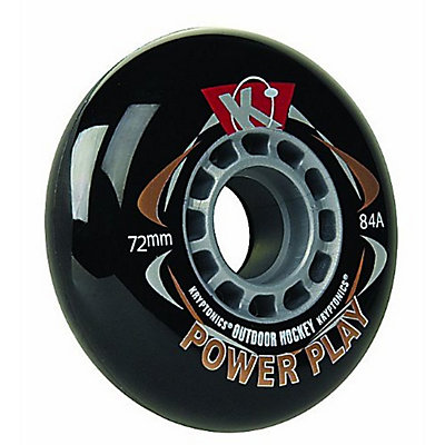Kryptonics Powerplay Outdoor Wheels Inline Hockey Skate Wheels - 4 Pack, , large