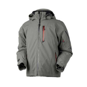 Obermeyer Osprey Mens Insulated Ski Jacket, Smoke, medium