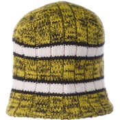 Obermeyer Bridger Knit Hat, Acid Yellow, medium
