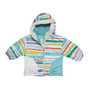 Obermeyer Belle Toddler Girls Ski Jacket, Stripecicle Print, medium