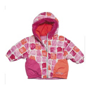 Obermeyer Belle Toddler Girls Ski Jacket, Paintbrush Print, medium