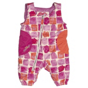 Obermeyer Arielle Bib Toddler Girls Ski Pants, Paintbrush Print, medium