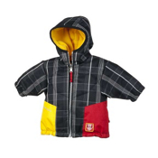 Obermeyer Sam Toddler Ski Jacket, Black Plaid, medium