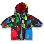 Obermeyer Sam Toddler Ski Jacket, Block Print, medium