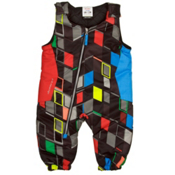 Obermeyer Max Bib Toddlers Ski Pants, Block Print, medium