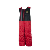 Obermeyer Chill Factor Bib Toddlers Ski Pants, True Red, medium