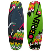 O'Brien Vixen Womens Wakeboard 2013, 132cm, medium