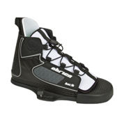 O'Brien Kick Wakeboard Bindings, Black-White, medium
