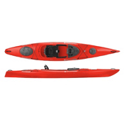 Wilderness Systems Pungo 140 Recreational Kayak 2013, Red, medium