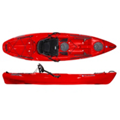 Wilderness Systems Tarpon 100 Sit On Top Kayak 2013, Red, medium