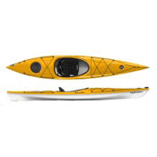 Perception Tribute 12.0 Airalite Recreational Kayak, Mango, medium