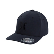 Hurley Phantom Flexfit Hat, Black, medium