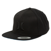 Hurley Solid Krush Hat, Black, medium