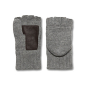 UGG Australia Fingerless Flip Mens Gloves, Grey Flannel Multi, medium