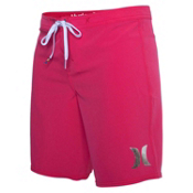 Hurley Phantom Solid 9 Inch Womens Boardshorts, Sangria, medium