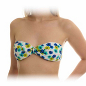 Body Glove Whimsy Bondi Bathing Suit Top, Sea Blue, medium