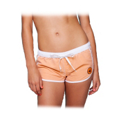 Body Glove Chillax Womens Boardshorts, Orangerine, medium