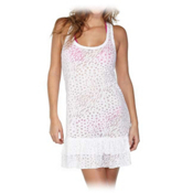 Body Glove Paige Dress Bathing Suit Cover Up, White, medium