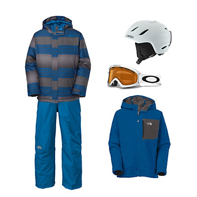 The North Face Grayson Jacket & The North Face Freedom Pant Boy's Outfit, , large
