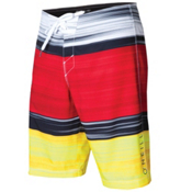 O'Neill HyperFreak Bonus Board Shorts, Red, medium