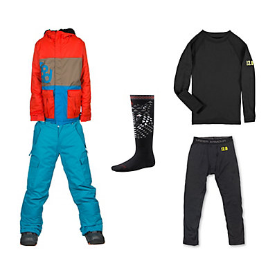 686 Elevate Jacket & 686 All Terrain Pants Boys Outfit, , large
