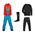 686 Elevate Jacket & 686 All Terrain Pants Boys Outfit