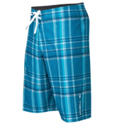 O'Neill Epic Plaid Board Shorts, Blue, medium