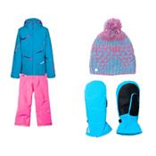 Spyder Tresh Jacket & Spyder Vixen Pants Girls Outfit, , medium