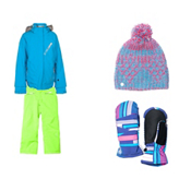 Spyder Lola Jacket & Spyder Vixen Pants Girls Outfit, , medium