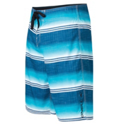 O'Neill Santa Cruz Stripe Board Shorts, Blue, medium