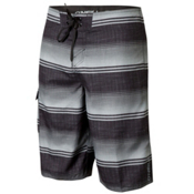 O'Neill Santa Cruz Stripe Board Shorts, Black, medium
