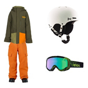 Burton Phase Jacket & Burton Exile Pants Boys Outfit, , medium